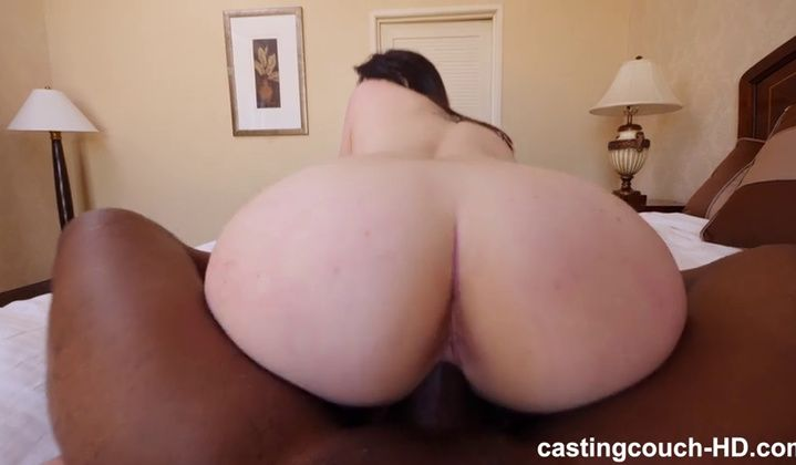 POV - New Model's Casting Has Her Orgasming From Bbc