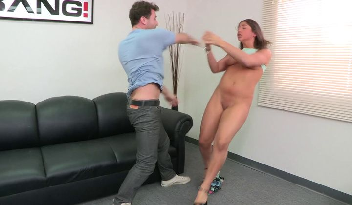 Jorden Kennedy Gets A Load In The Mouth For Her Audition